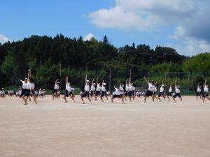 ダンス 初めて全校生であわせまし