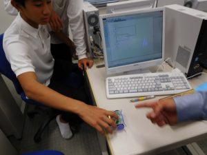 3年生技術:ロボットのプログラミングの意見交流