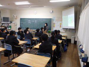 3年生英語授業
